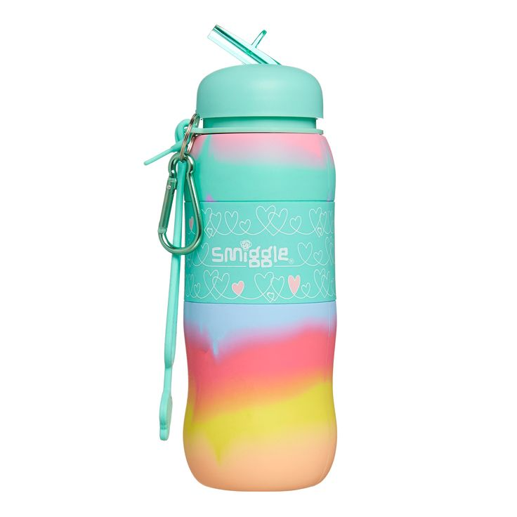 Image for Blended Silicone Roll Bottle from Smiggle UK