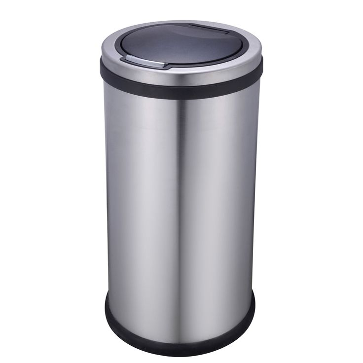 Cooke & Lewis 30 L Stainless Steel One Touch Bin | Departments | DIY at B&Q
