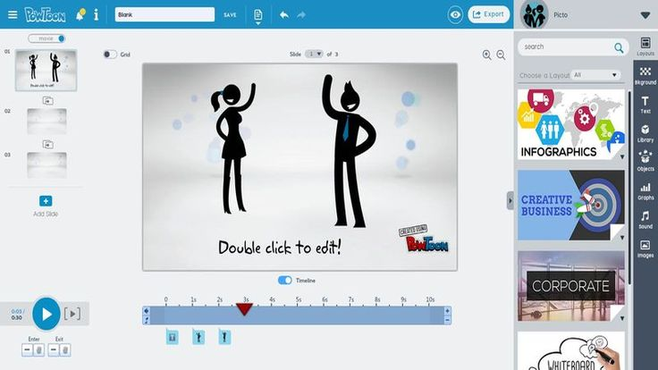 PowToon - crea presentaciones y vídeos