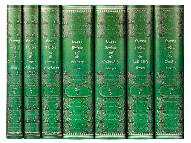 Time to rebuy the entire 'Harry Potter' series because now there are house-themed covers - SLYTHERIN BOOKS