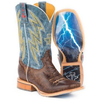 Tin Haul Mens Spiky Wire Thunderstorm Boots 11D: Tin Haul Men's Spiky Wire Thunderstorm… #Equestrian #Horse #HorseProducts #Horses #Pets