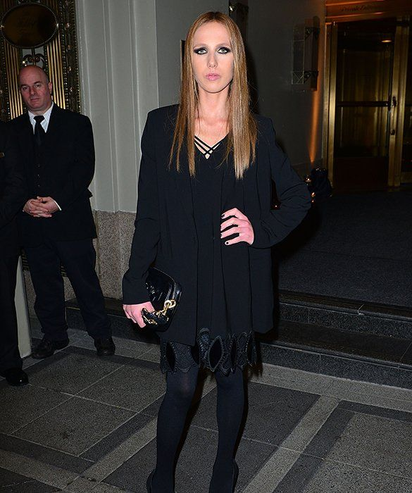 Allegra Versace At 18, Allegra inherited half of her late uncle Gianni Versace's fashion empire—valued at over $700 million—and had a public battle with anorexia. Now 28, she is an instrumental force behind the Versace brand and holds a seat on the Board of Directors. The heiress currently resides in Milan with mom Donatella, but has attended college in the States at both Brown and UCLA. Smart girl!