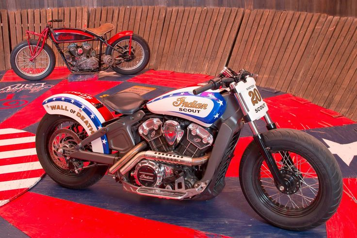"""2015 indian scout   Indian Scout """"Wall of Death"""" - Press Conference @ Sturgis 2014"""
