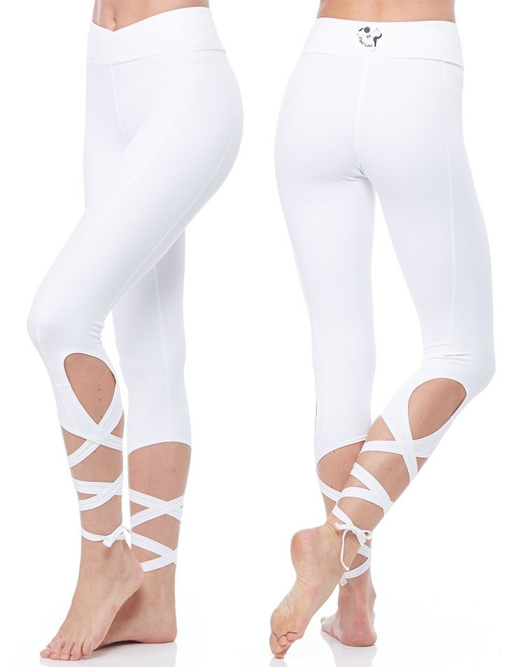 Create an effortlessly graceful appearance with these stunning silky soft leggings from Flexi Lexi!  Available at evolvefitwear.com