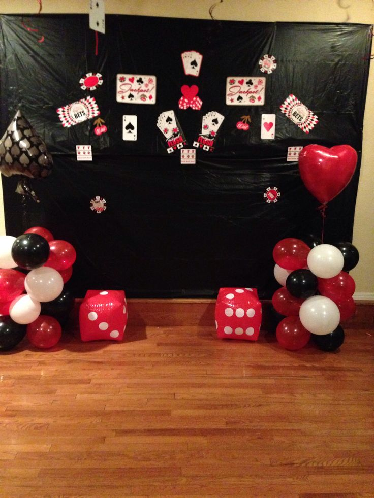 Poker Decorations Birthday Party