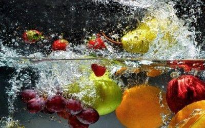Come lavare frutta e verdura?
