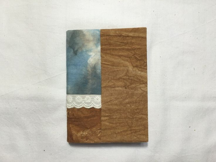 Natural Dyeing Diary Cover (# 3) with Notes by sanchaeg on Etsy