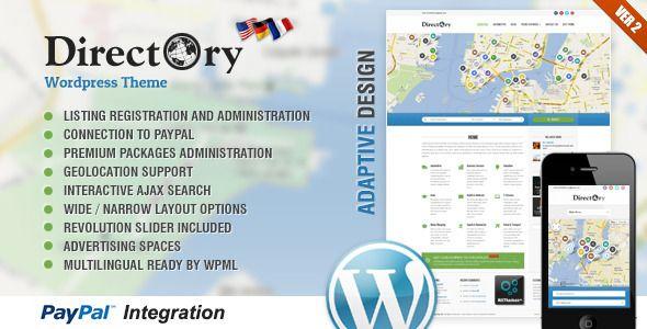 Directory Portal Wordpress Theme - Miscellaneous WordPress Available for sale on http://themeforest.net/item/directory-portal-wordpress-theme/3840053?sso?ref=Teo_nikif