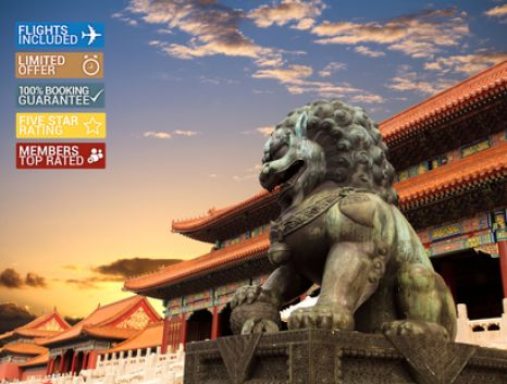 10 Day Amazing China Tour ~ Includes All Flights, 4 Star Hotels, The Great Wall, Giant Pandas, Meals