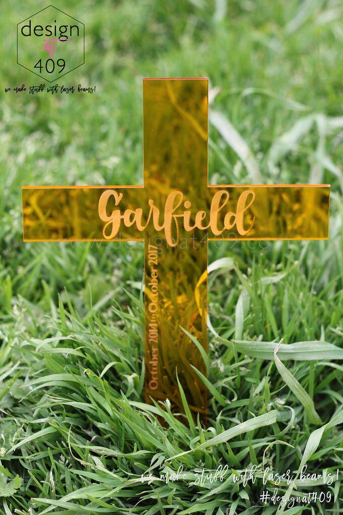 Garfield RIP Cross For a Pet Guinea Pig : Design at 409
