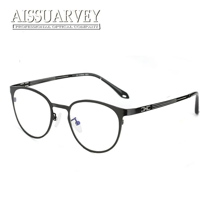 Pure Titanium Eyeglasses Frames for Men Women Optical Vintage Round Glasses Frames Reading Eye Wear Computer Goggles with Clear. Yesterday's price: US $74.50 (60.46 EUR). Today's price: US $43.21 (35.06 EUR). Discount: 42%.