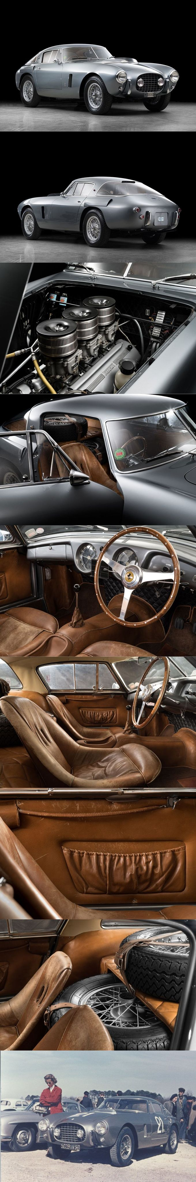 1952 Ferrari 250 MM / s/n 0310MM / classicdriver.com / Vignale / Italy / silver