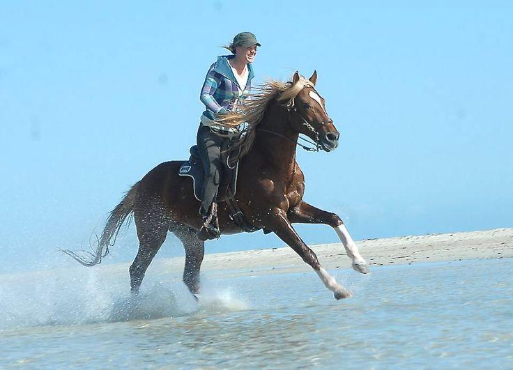Ruitervakantie : Buitenritten - Paardrijden op het strand