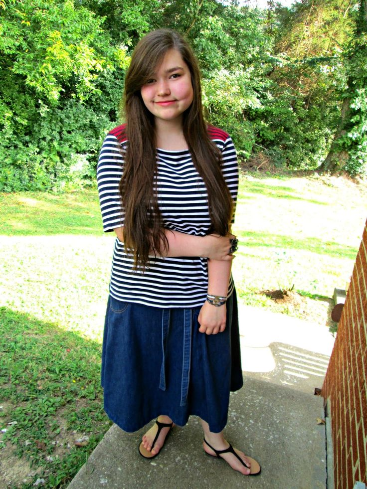 Unique Geek: Fashion With Liz: Ahoy! #teenfashion #cuteootd #teen #churchoutfit: