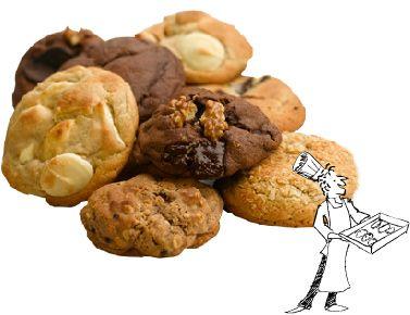 Ben's Cookies!! I miss London :(.