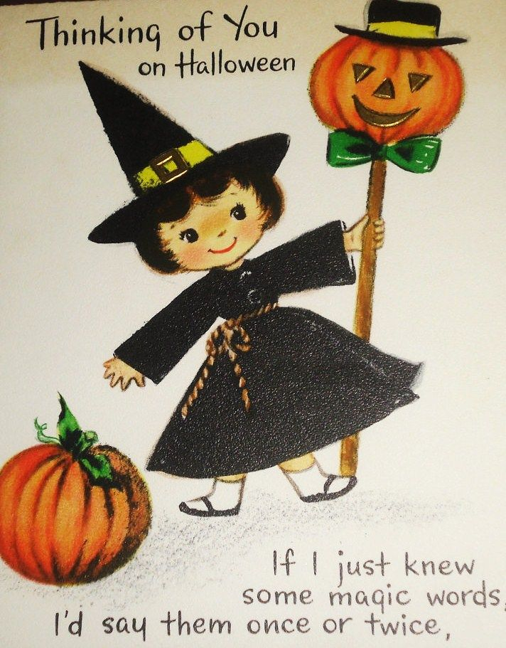 9a9fb77c6f5faed03f81ea9c1cebfac5jpg 712911 vintage halloween cardsvictorian halloweenvintage - What To Say In A Halloween Card