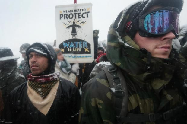 Veterans who protested Dakota Access Pipeline head to Flint for next campaign  More than 100,000 people in Michigan have been suffering for two years as a result of a polluted, lead-contaminated water supply