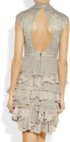 sparkle and ruffles / ALICE + OLIVIA