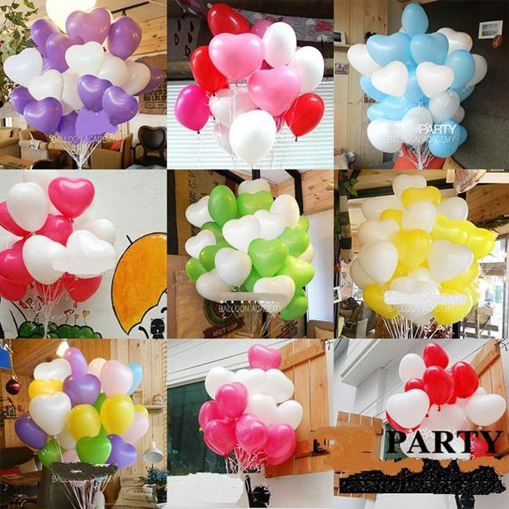 50 pcs 10 en forme de coeur latex perle ballons parti dcorer de saint - Aliexpress Decoration Mariage