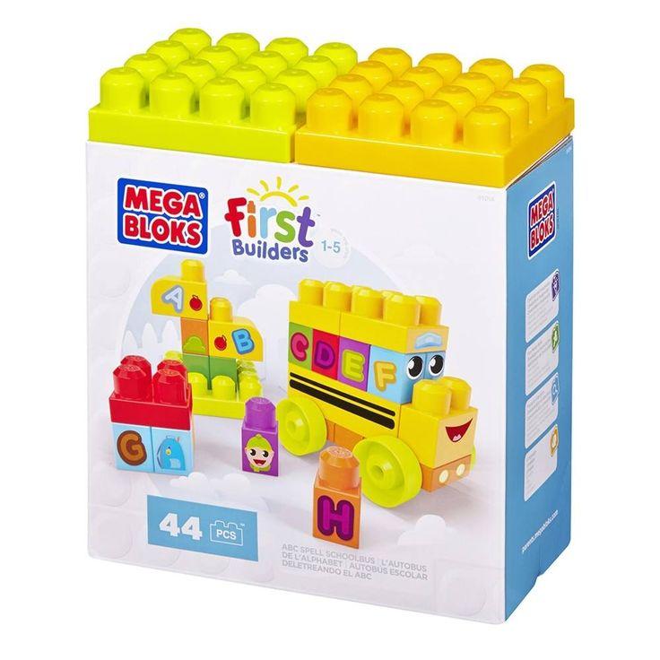 Mega Bloks Autobus 44 pièces. 14.99$ Achetez-le: info@laboiteasurprisesdenicolas.ca