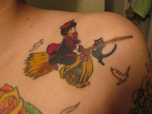 17 best images about hayao miyazaki tattoo on pinterest for Kiki tattoo artist