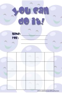 Free Printable Stickers and Behavior Charts from Stickers and Charts