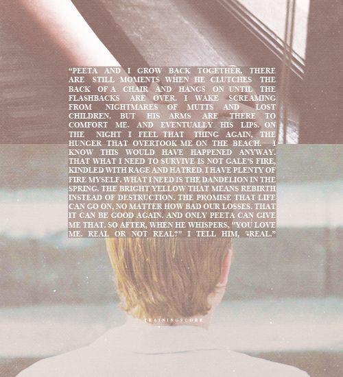 Peeta & Katniss - Mockingjay