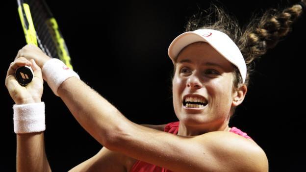 #tennis #news  Britain's Konta out of Stuttgart Open