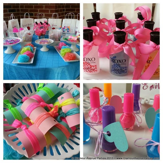 Nail Polish Bottles Fun Sleepover Games And Sleepover: Spa Party With Beauty & Favor Bar