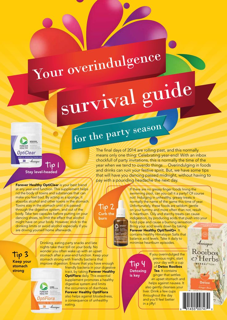 Great advice for when you accidentally overindulge on your favourite wine or…