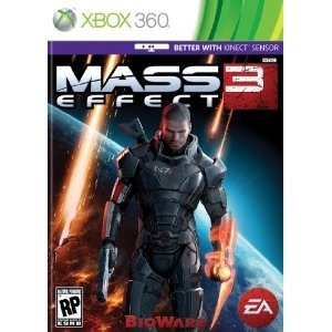 Mass Effect 3 Pre-order ($59.99). I gotta hurry up and finish two. Words can't express how much I love this game! ❤
