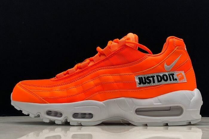 """cheap for discount ba676 99cbd Nike Air Max 95 """"Just Do It"""" Total OrangeWhite-Black AV6246-800"""