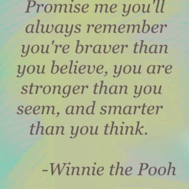 But You Won T Break Me You Ll Just Make Me Stronger Than: Best 25+ Tao Of Pooh Ideas On Pinterest