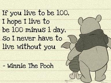 Love this quote!Bring Tears, Sayings Quotes, Best Friends, Pooh Bears, Wanna Living, 100 Minus, Quotes Sayings, Winnie The Pooh, Favorite Quotes