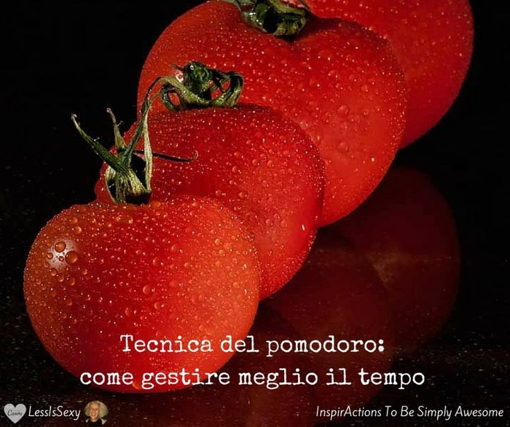 Sto sperimentando la tecnica del pomodoro. Perché «non ho tempo» è una risposta che non mi va più di sentire. Perché strategia è la mia parola chiave del 2016.  #LessIsSexy #PomodoroTechnique #Strategia