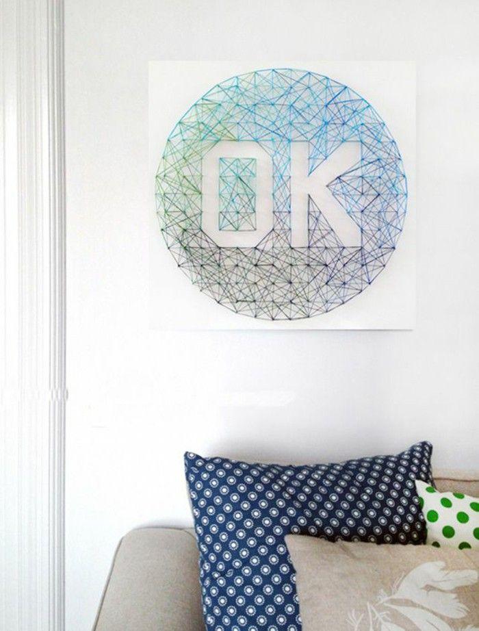 23 Artistic DIY String Art Home Decors