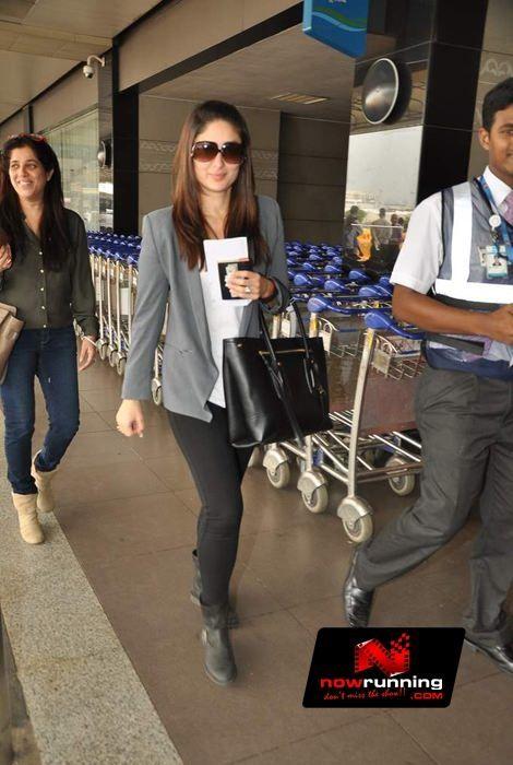 kareena kapoor carrying Alexander McQueen Folk bag. Bollywood bag style.