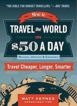 """Travel resources page from the author of """"How to Travel the World on $50 a Day"""" - Lots of great stuff on his site."""