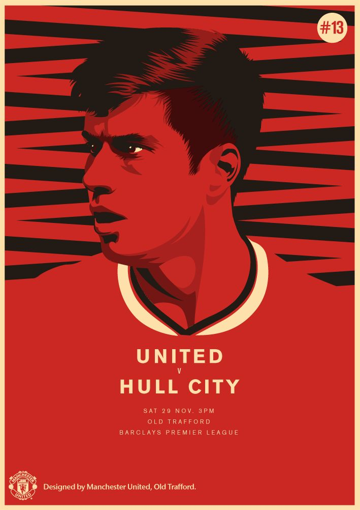United take on Hull City at Old Trafford. It is Tigers' manager and Reds' legend Steve Bruce's 700 PL game! 29.11.2014.