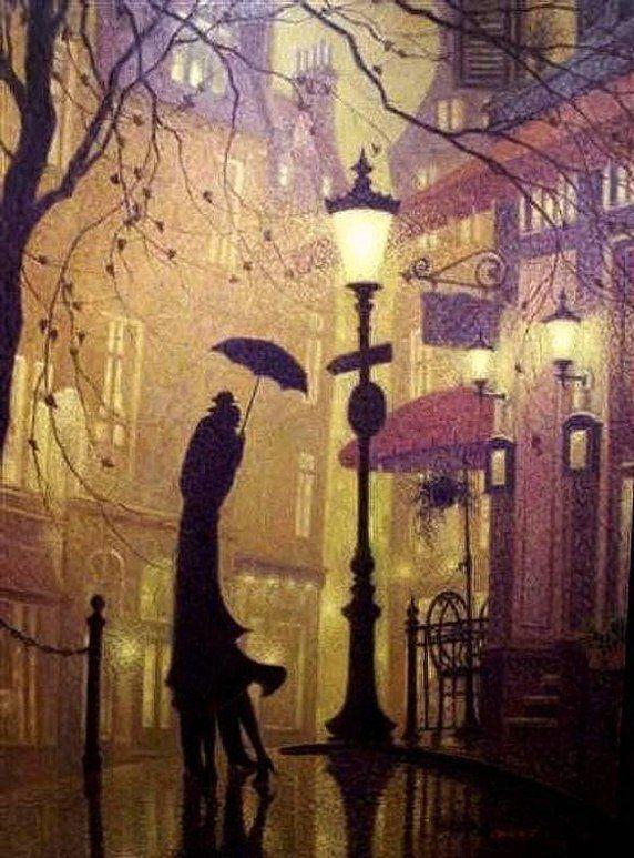 картинки с фонарями вечером рисунки категорически отказывается