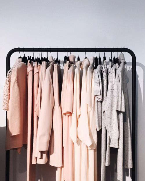 17 Best Ideas About Color Coordinated Closet On Pinterest