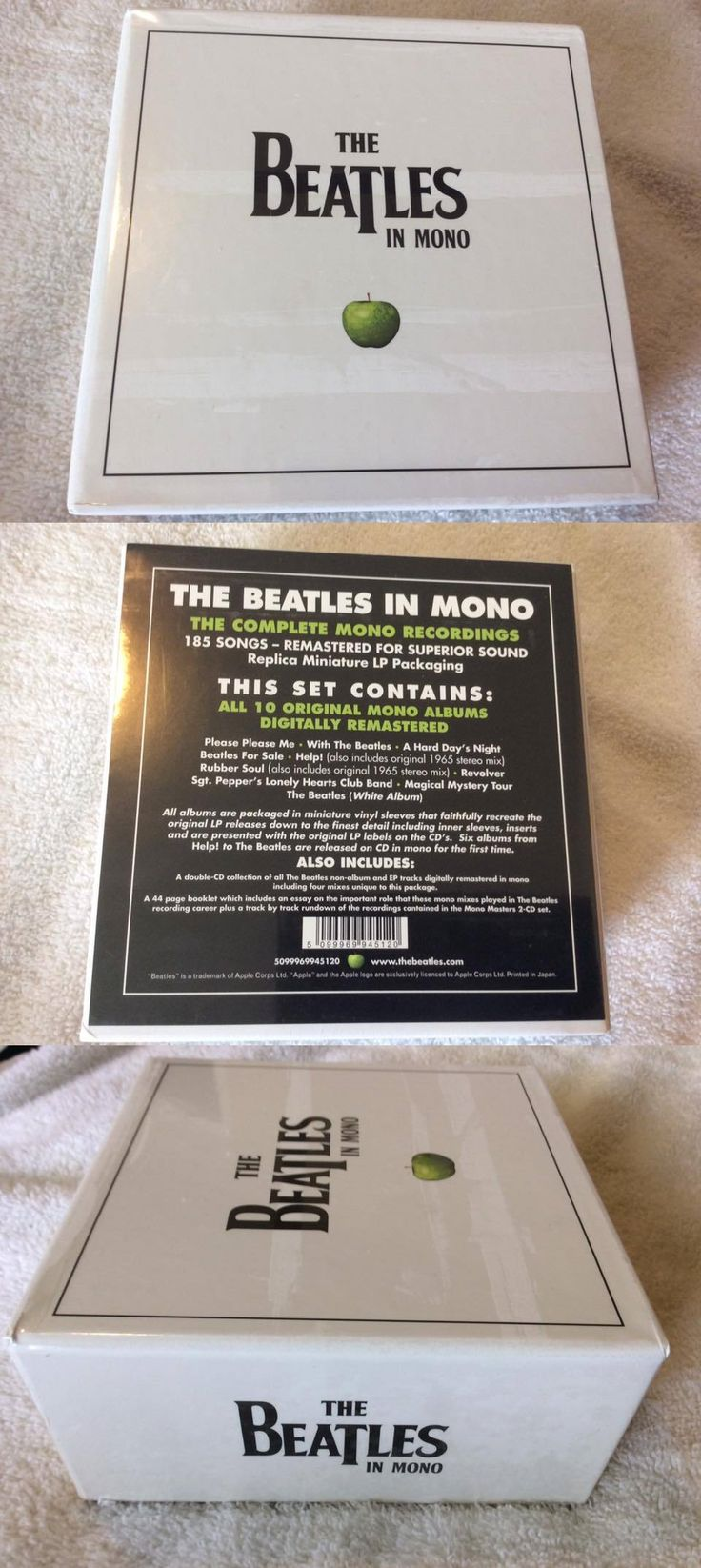 Music Albums: The Beatles In Mono Cd Box Set - 100% Authentic! - Brand New Factory Sealed! -> BUY IT NOW ONLY: $112.99 on eBay!