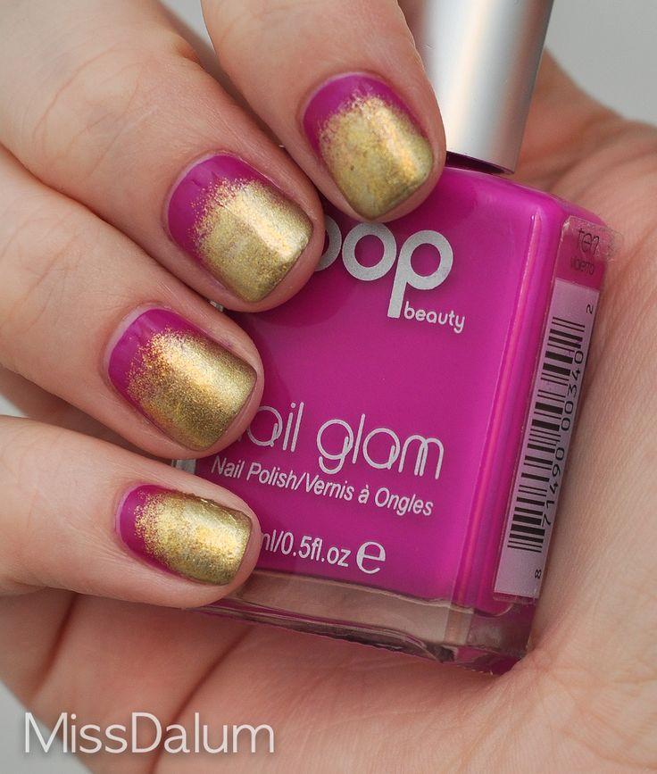 Effie Trinket Nails :): Nails Art, Effie Trinket, The Hunger Games, Halloween Costumes, Jazz Costumes, Nails Polish, Trinket Nails, Half Moon, Hunger Games Nails
