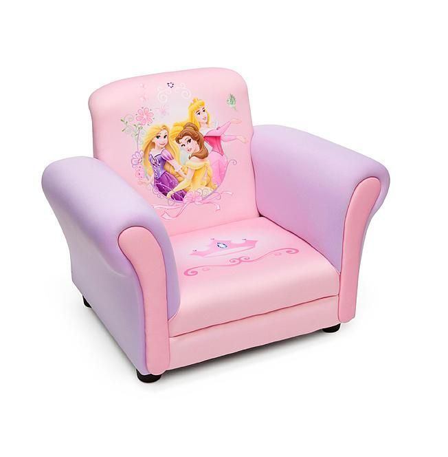 Fairytale Favorites Share The Spotlight On This Disney Princess Upholstered  Chair From Delta Children!