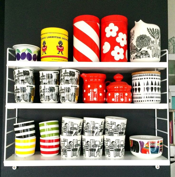 Marimekko coffee cups and...