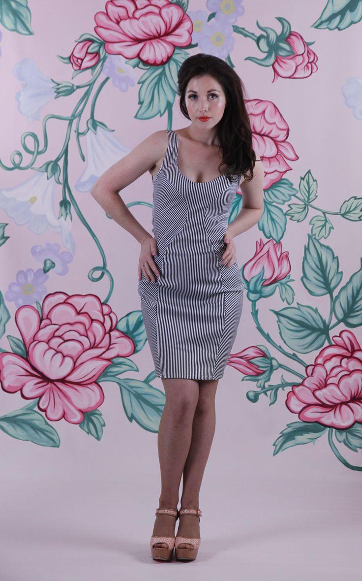 Harriett Falvey - Tutti Fruity Dress - Stripe