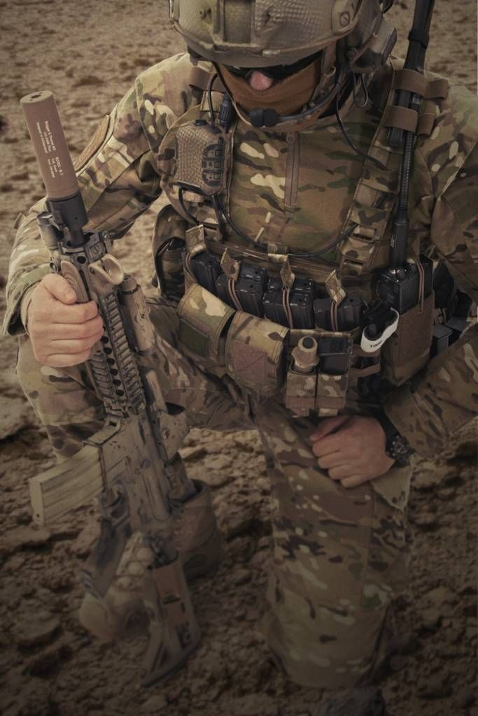 Warrior Falcon Chest Rig (Coyote Tan) - TACSTORE Europe