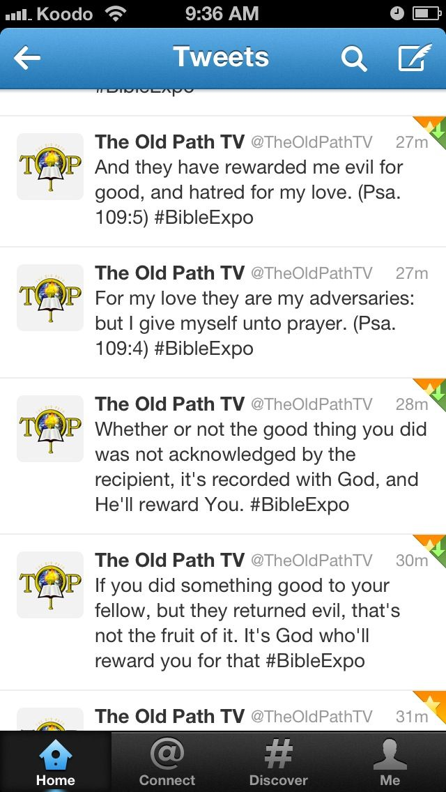 Bible Exposition 06212013