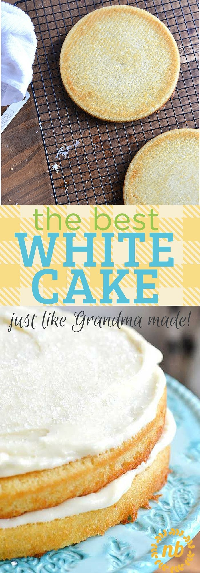 This white cake recipe is what we consider to be the absolute best version, because it's a great combination of delicious and easy to make. Perfection!