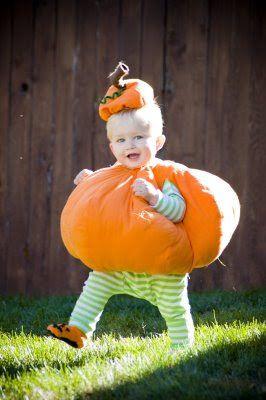 Dahlhart Lane: My Round Little Pumpkin Costume